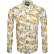 Product Image for Versace Jeans Couture Long Sleeve Shirt White