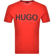 Product Image for HUGO Dolive T Shirt Red