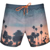 Product Image for BOSS Springfish Swim Shorts Orange