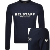 Product Image for Belstaff Crew Neck Sweatshirt Navy