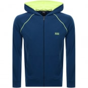 Product Image for BOSS Bodywear Lounge Logo Hoodie Blue