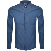 Product Image for PS By Paul Smith Long Sleeved Denim Shirt Blue