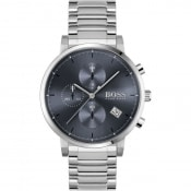 Product Image for BOSS Integrity Watch Silver