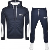 Product Image for BOSS Saggy Tracksuit Navy