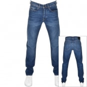 Product Image for BOSS Taber Tapered Fit Jeans Blue