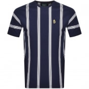 Product Image for Luke 1977 Stratford Striped T Shirt Navy