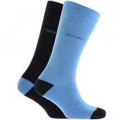Product Image for BOSS Two Pack Socks Blue