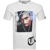 Product Image for Replay Tupac Tribute Logo T Shirt White
