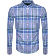 Product Image for Ralph Lauren Slim Fit Long Sleeve Shirt Blue