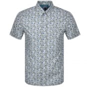 Product Image for Pretty Green Ava Short Sleeve Shirt Blue