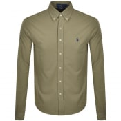 Product Image for Ralph Lauren Featherweight Mesh Shirt Green