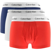 Product Image for Calvin Klein Underwear 3 Pack Boxer Trunks White