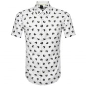 Product Image for BOSS Ronn Short Sleeved Shirt White
