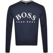 Product Image for BOSS Salbo Sweatshirt Navy