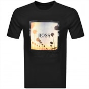 Product Image for BOSS Tsummer 4 T Shirt Black