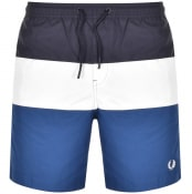 Product Image for Fred Perry Colour Block Swim Shorts Navy