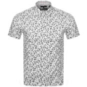 Product Image for Ted Baker Krosa Short Sleeved Shirt Navy