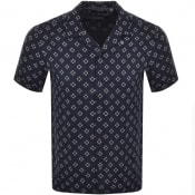 Product Image for Ted Baker Hedstan Short Sleeved Shirt Navy