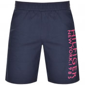 Product Image for Tommy Hilfiger Loungewear Logo Shorts Navy