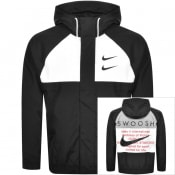 Product Image for Nike Hooded Swoosh Jacket Black