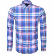 Product Image for Ralph Lauren Oxford Slim Fit Shirt Blue