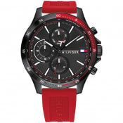 Product Image for Tommy Hilfiger 1791722 Chronograph Watch Red