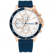 Product Image for Tommy Hilfiger 1791778 Chronograph Watch Navy