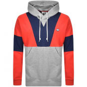 Product Image for Adidas Originals Panelled Hoodie Red