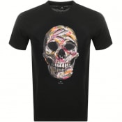 Product Image for PS By Paul Smith Skull Logo T Shirt Black