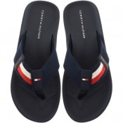 Product Image for Tommy Hilfiger Sporty Beach Flip Flops Navy