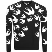 Product Image for MCQ Alexander McQueen Swallow Sweatshirt Black
