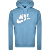 Product Image for Nike Swoosh Logo Hoodie Blue
