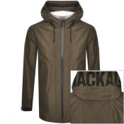 Product Image for Mackage Odin Hooded Rainwear Jacket Khaki