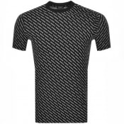 Product Image for DSQUARED2 All Over Print T Shirt Black