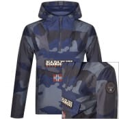 Product Image for Napapijri Rainforest Block Camo Jacket Black