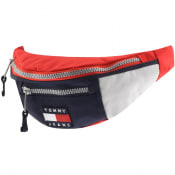 Product Image for Tommy Jeans Heritage Canvas Waist Bag Red