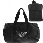 Product Image for Emporio Armani Packable Duffel Bag Black