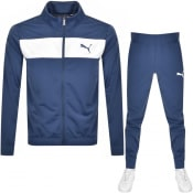 Product Image for Puma Classic Techstripe Tricot Tracksuit Navy