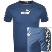 Product Image for Puma Amplified T Shirt Navy