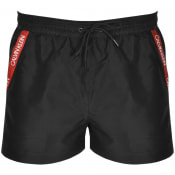 Product Image for Calvin Klein Logo Swim Shorts Black