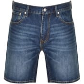 Product Image for Superdry Denim Conor Taper Shorts Blue
