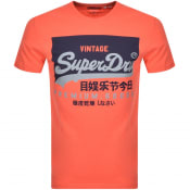 Product Image for Superdry Vintage Logo T Shirt Orange