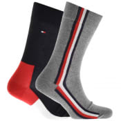 Product Image for Tommy Hilfiger 2 Pack Iconic Hidden Socks Navy