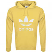 Product Image for adidas Originals Trefoil Logo Hoodie Yellow