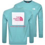 Product Image for The North Face Raglan Redbox Sweatshirt Blue