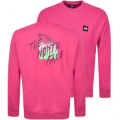 Product Image for The North Face Masters Of Stone Sweatshirt Pink