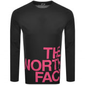 Product Image for The North Face Flow 1 Long Sleeve T Shirt Black