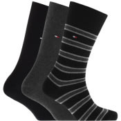 Product Image for Tommy Hilfiger Three Pack Socks Black