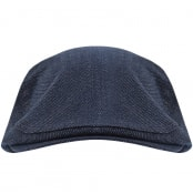 Product Image for Ted Baker Splits Flat Cap Blue