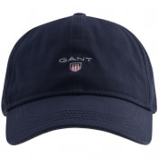 Product Image for Gant Twill Cap Navy